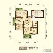 峨眉半山七里坪2室2厅2卫43平方米户型图