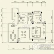 泰然南湖玫瑰湾4室3厅3卫187平方米户型图