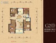 三巽壹�院4室2厅2卫128--129平方米户型图