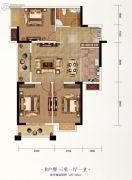 长投珑庭3室2厅1卫97--105平方米户型图