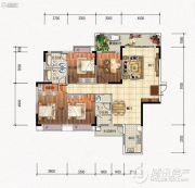元琦林居4室2厅3卫0平方米户型图