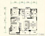 山水檀溪・山水家园3室2厅2卫114平方米户型图
