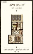 东方润园0室0厅0卫0平方米户型图