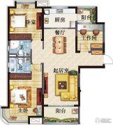 高淳碧桂园3室2厅2卫0平方米户型图