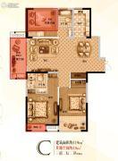 宝格丽公馆3室2厅2卫119--137平方米户型图