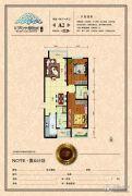 天水丽城二期2室2厅2卫0平方米户型图