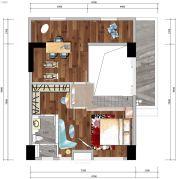 中洲公馆0室0厅0卫76平方米户型图