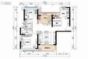 海伦堡・海伦湾3室2厅2卫0平方米户型图