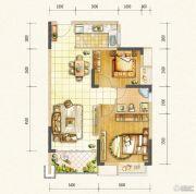 万达西双版纳国际度假区2室2厅1卫73平方米户型图