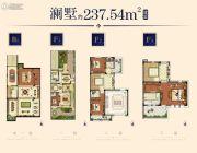 华强城237平方米户型图