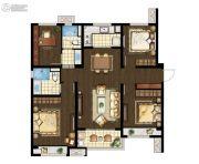 万科海上传奇4室2厅2卫125平方米户型图