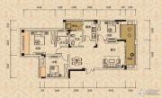 北麓国际城3室2厅2卫93平方米户型图