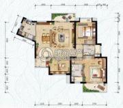 万科・红树东岸3室2厅2卫118--120平方米户型图