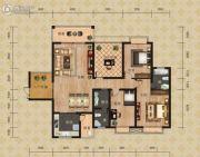 富恒・金鹏嘉苑二期3室2厅2卫143平方米户型图