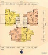 海泉湾66--93平方米户型图