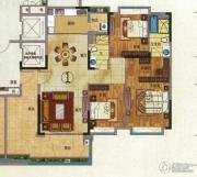珠光流溪御景3室2厅2卫147平方米户型图
