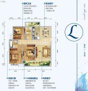 三沙源国际生态文化旅游度假区3室2厅2卫135平方米户型图