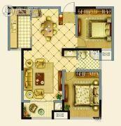 辉腾新天地2室1厅1卫92平方米户型图