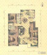 益田瓦萨小镇3室2厅2卫155平方米户型图