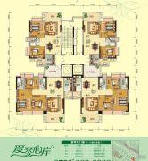 天鹅湾3室2厅2卫84--123平方米户型图