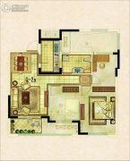 银座・东城丽景2室2厅1卫0平方米户型图