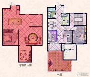 易居公馆3室2厅1卫95--105平方米户型图