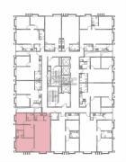 润城3室2厅1卫117平方米户型图