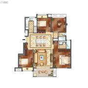 正荣悦玲珑4室2厅2卫105平方米户型图