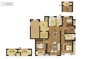 澜湖郡4室2厅2卫115平方米户型图