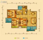 金鸿城三期归谷3室2厅1卫93平方米户型图