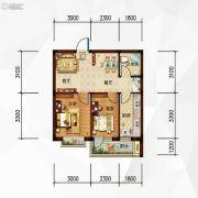 玉祥・明居2室2厅1卫60平方米户型图