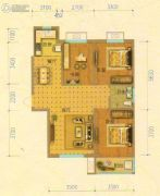 北斗星城・御府Ⅱ期3室2厅1卫106平方米户型图