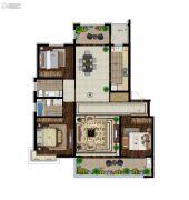意林・国际公园3室2厅2卫160平方米户型图