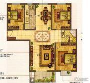 华前城市广场2室2厅1卫125平方米户型图