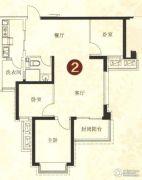 恒大绿洲3室2厅1卫109平方米户型图