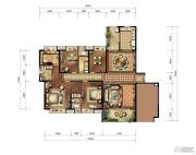九方城4室2厅3卫230平方米户型图