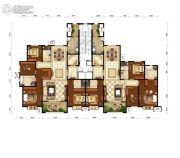 电建地产・泷悦长安4室2厅3卫0平方米户型图