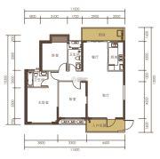 山水一品0室0厅0卫119平方米户型图