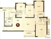 恒大绿洲5室2厅2卫173平方米户型图