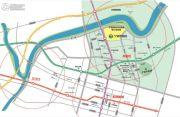 绿城深蓝公寓交通图
