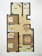 澳海澜庭(现房)3室2厅2卫113平方米户型图