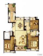 东方兰园3室2厅2卫144平方米户型图