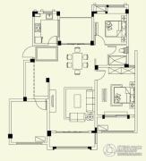 融侨观邸3室2厅2卫116平方米户型图