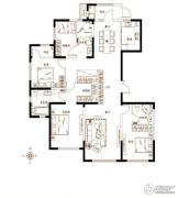 金茂湾4室2厅3卫190平方米户型图