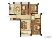 爱涛尚书云邸3室2厅1卫112平方米户型图