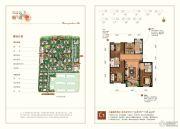 北京城建・琨廷3室2厅2卫113--118平方米户型图