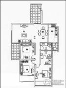 泰祥和家大院3室2厅2卫123平方米户型图