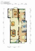 佳源・名人国际花园3室2厅2卫133平方米户型图