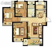 启迪协信・无锡科技城3室2厅1卫95平方米户型图