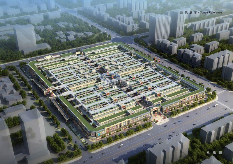 国旅安阳城乔尚鸟瞰图